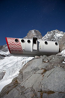 Living Ecological Alpine Pod.